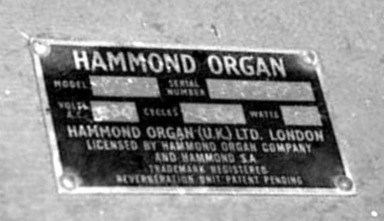 hammond organ dating Jazz organ - ladies behind the drawbars: ethel smith was the first hammond b-3 organ star (not a jazz player), but many followed in the jazz vein.